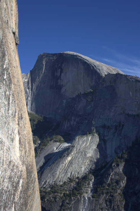 View of Half Dome from Washington Column