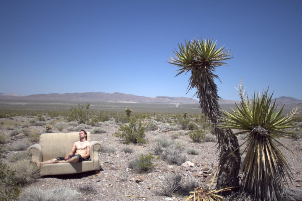 Nathan Murphy Chilling in the desert