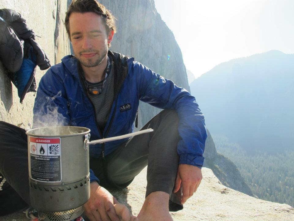 Nathan Murphy on El Cap Tower